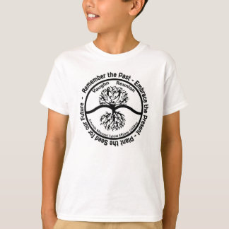 Vaughn Family Reunion Kids B&W Logo T-Shirt