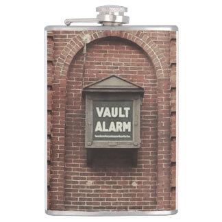 Vault Alarm Photography Printed Flask