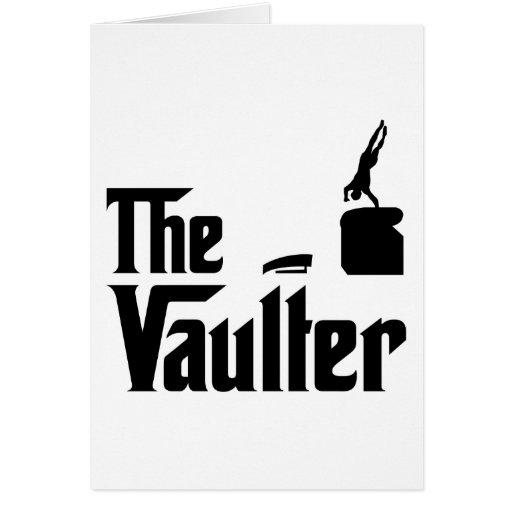 Vault Greeting Card