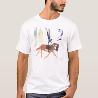 Vault!  Equestrian Vaulting 2 sided T-Shirt