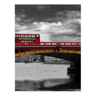 Vauxhall Bridge Thames London Postcard