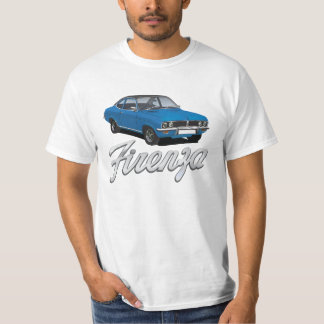 Vauxhall Firenza blue, black roof + text T-Shirt