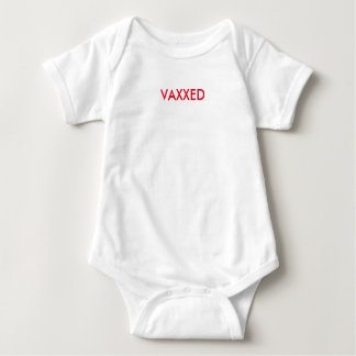 Vax+ for children. Let'em know that you are VAXXED Baby Bodysuit
