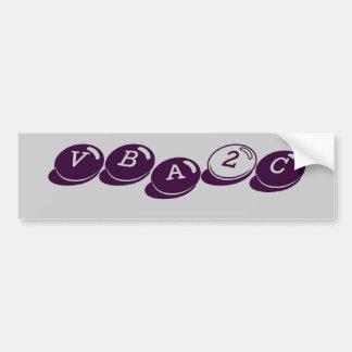 VBA2C BUMPER STICKERS