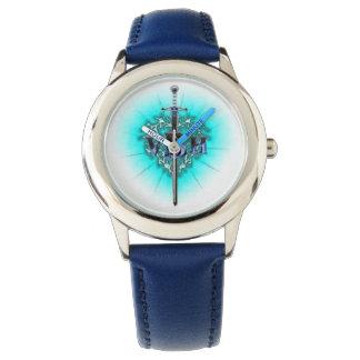 VBH Stainless Steel Blue Watch