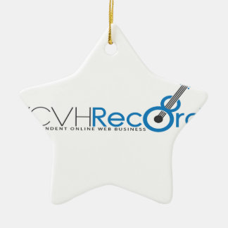 VCVH Records Clothings Ceramic Ornament