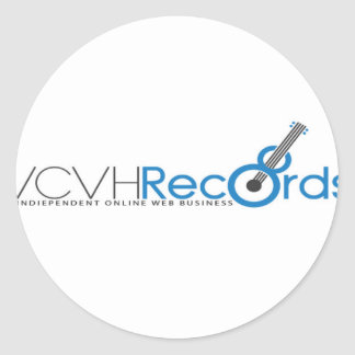 VCVH Records Clothings Round Sticker
