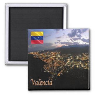 VE - Venezuela - Valencia - By Nigth Square Magnet
