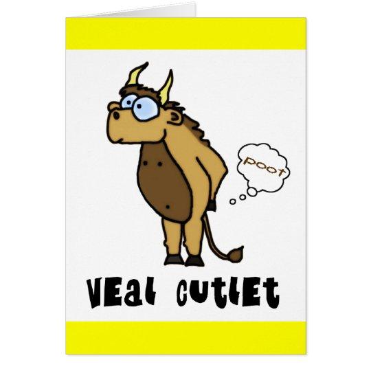 Veal Cutlet Card