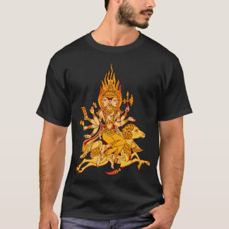 Vector Agni God of divine knowledge T-Shirt