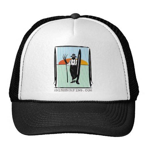 vector amish surffboard hats