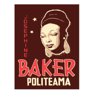 Vector Art Josephine Baker at the Politeama Postcard