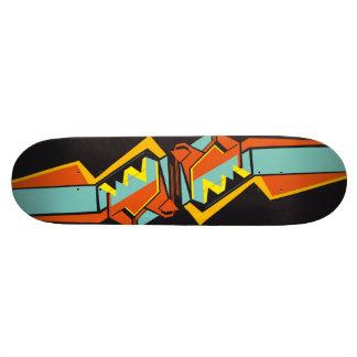 Vector Art Custom Skateboard