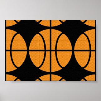 Vector Basketball Poster