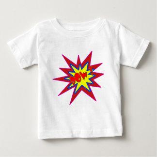 Vector Comic Book POW ! Baby T-Shirt