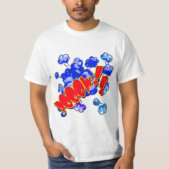 Vector  Comic Pooow !! Explosion T-Shirt