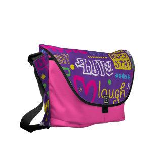 Vector Design Rickshaw Bag Commuter Bag