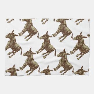 Vector Donkey Hand Towel