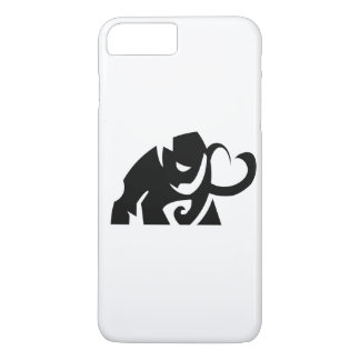 vector elephant shape i phone case