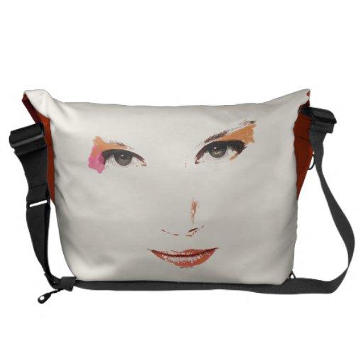 Vector Face Courier Bag