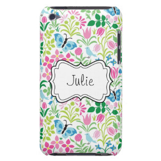 Vector Floral Flower Butterfly iPod Touch Case-Mate Case