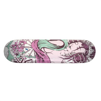 Vector Geisha Beauty Skateboard