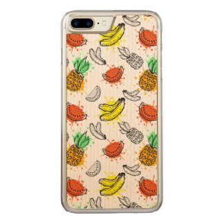 Vector Graphic Seamless Pattern Carved iPhone 8 Plus/7 Plus Case