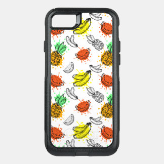 Vector Graphic Seamless Pattern OtterBox Commuter iPhone 8/7 Case