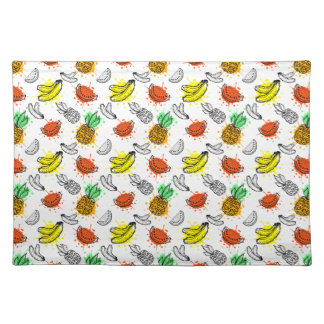 Vector Graphic Seamless Pattern Placemat