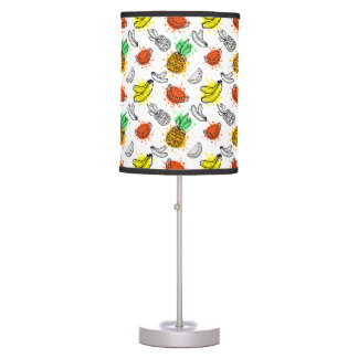 Vector Graphic Seamless Pattern Table Lamp
