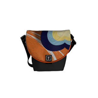 Vector Graphics Courier Bags