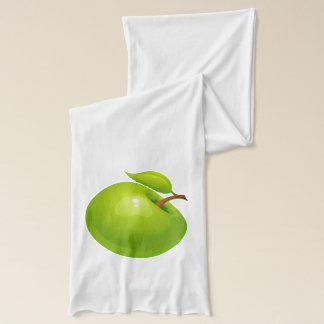 Vector  Green Apple Scarf