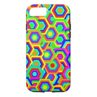 Vector Hexagons Background iPhone 7 Case