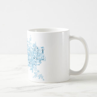 vector ice cubes Mug