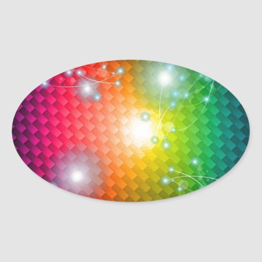 Vector-Image-of-Abstract-Colorful-Background BLACK Sticker
