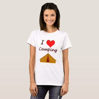 Vector Love Camping T-Shirt