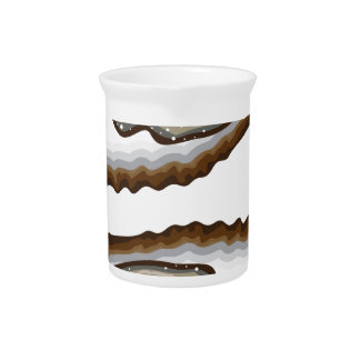 Vector Oysters Drink Pitcher
