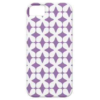 Vector Pattern Bellflower Purple iPhone5 Case Case For The iPhone 5