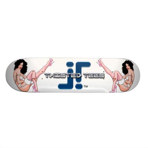 Vector Pinup Skate Board