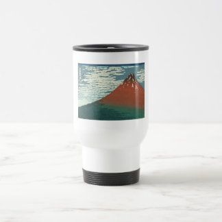 Vector Red Fuji Travel Mug