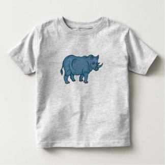 Vector Rhino Toddler T-shirt