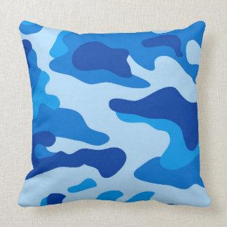 Vector Sea camouflage Throw Pillow