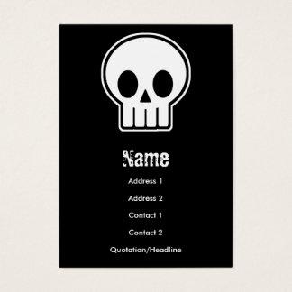 Vector Skull Business Card