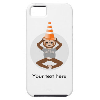 Vector Sloth Be A Unicorn iPhone 5 Cases