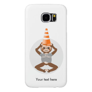 Vector Sloth Be A Unicorn Samsung Galaxy S6 Case