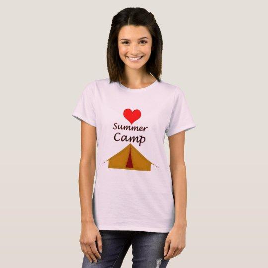Vector Summer camp T-Shirt