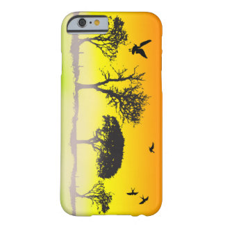Vector Tree Silhouette Barely There iPhone 6 Case