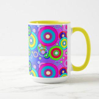 Vector Vivid Circles Mug