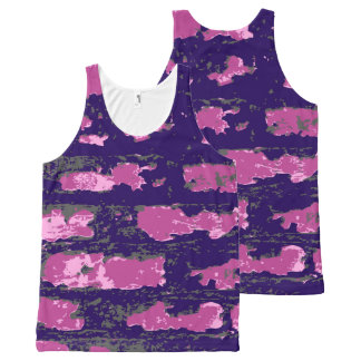 Vector Wall All-Over-Print Tank Top