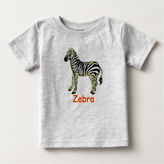 Vector  Zebra Baby T-Shirt